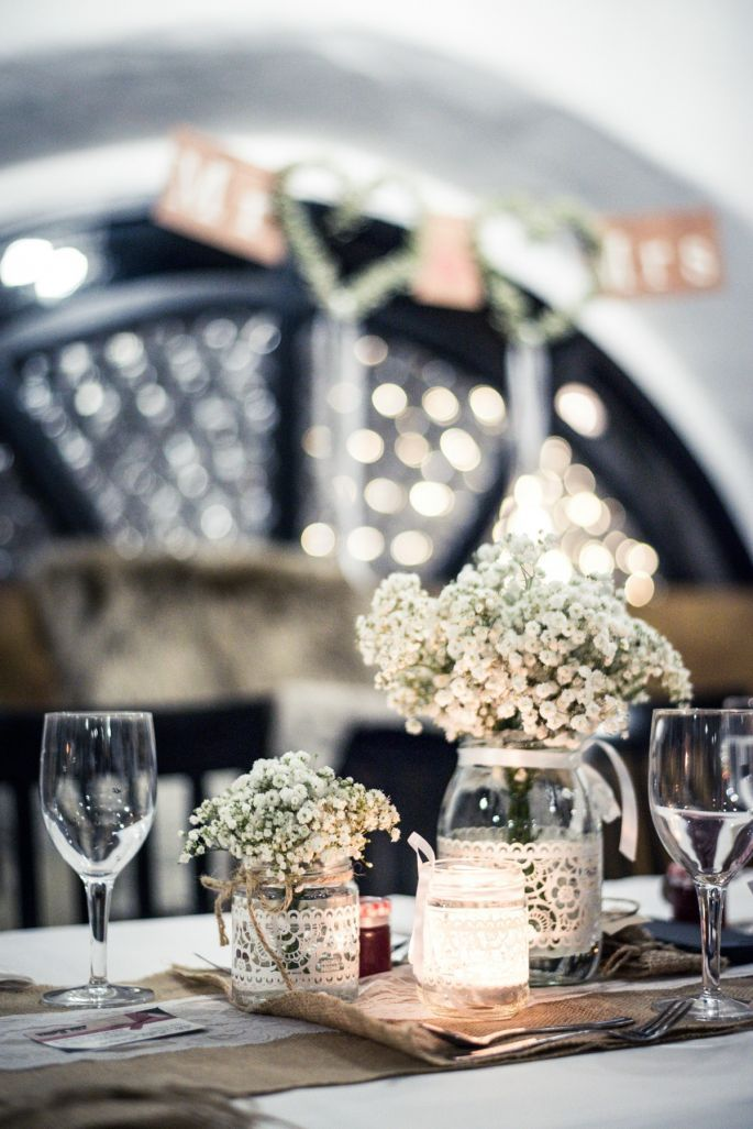 Einige einzigartige Hochzeitsdekoration Ideen