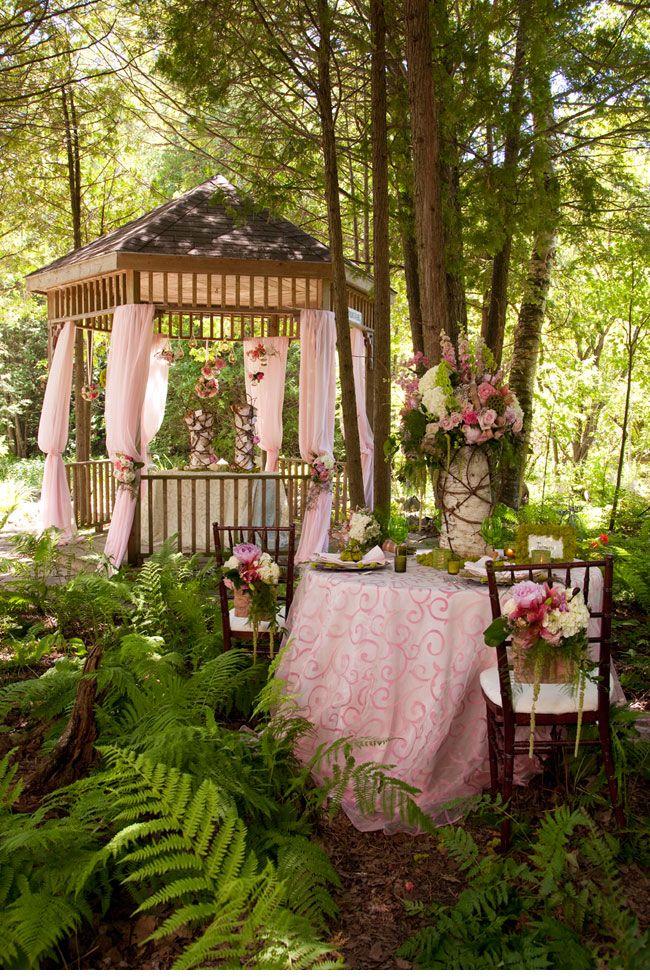 Pavillon Hochzeitsdekorationen