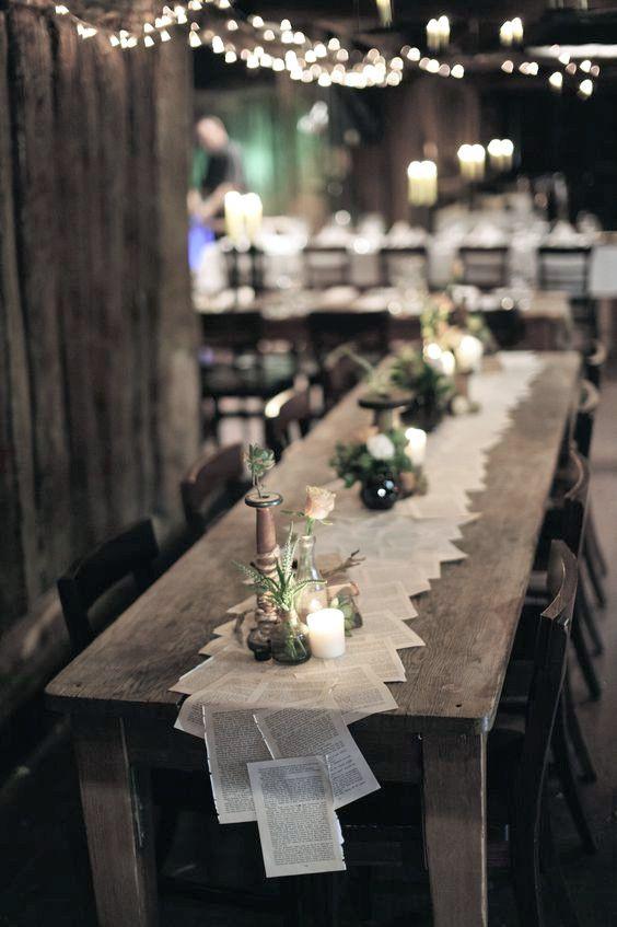 Thematische Hochzeitsdekorationen