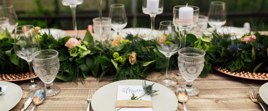 Verwenden Sie Ihre Hochzeitsdekorationen wieder