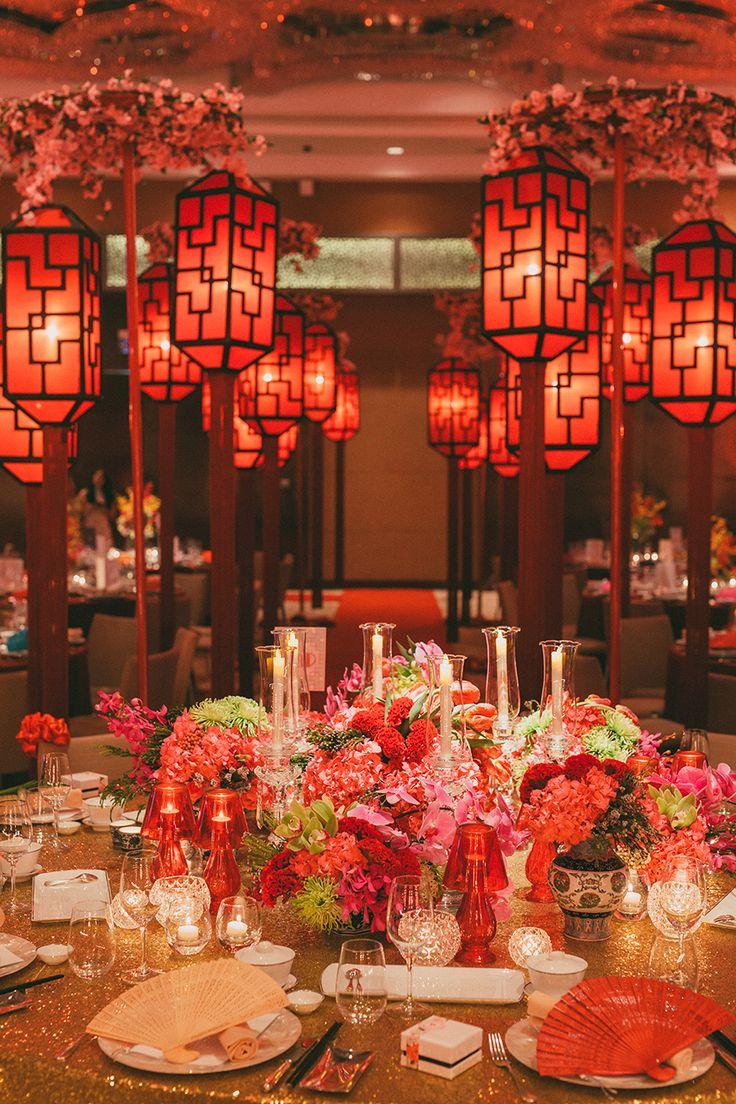 Asiatische Hochzeitsthemen: Beruhigend, raffiniert und exotisch