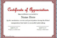 016 Certificate Of Appreciation Templates Free Powerpoint pertaining to Printable Years Of Service Certificate Template Free 11 Ideas