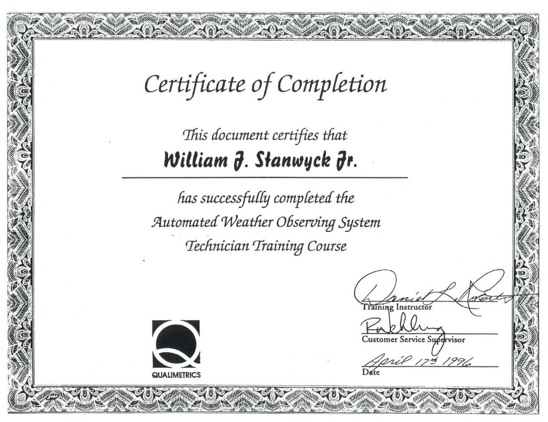 018 Training Completion Certificate Template Free Ideas with Class Completion Certificate Template