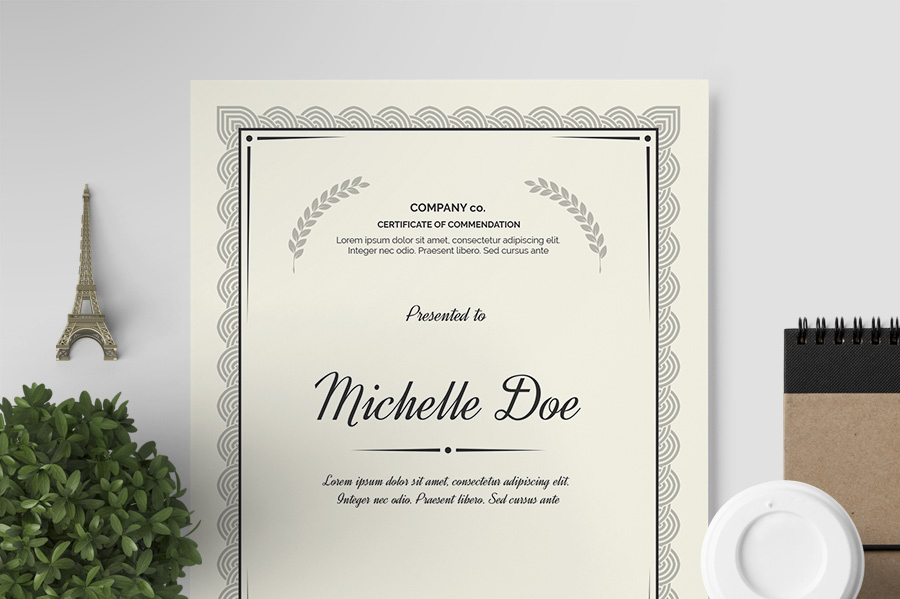 10 Award Certificate Template Examples  Templates Assistant with regard to Award Certificate Design Template