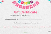 10 Birthday Gift Certificate Free Template In Psd  Room within 10 Certificate Of Championship Template Designs Free