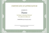 10 Certificate Of Accomplishment Templates  Free inside Best Chef Certificate Template Free Download 2020