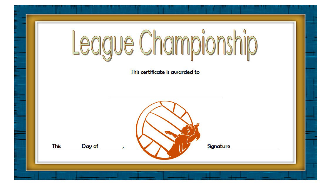 10 Certificate Of Championship Template Designs Free inside Free Softball Certificates Printable 10 Designs