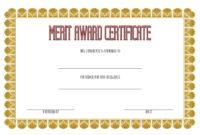 10 Certificate Of Merit Templates Editable Free Download for Printable Template For Certificate Of Award