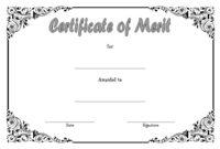 10 Certificate Of Merit Templates Editable Free Download with Blank Certificate Templates Free Download