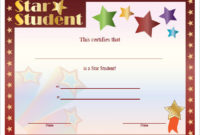 10 Certificate Templates For Kids  Free Samples Examples inside Awesome Star Naming Certificate Template