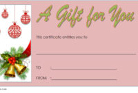 10 Christmas Gift Templates Free Typable for Amazing Christmas Gift Templates Free Typable