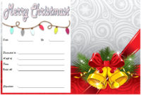10 Christmas Gift Templates Free Typable for Christmas Gift Templates Free Typable