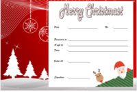 10 Christmas Gift Templates Free Typable inside Amazing Christmas Gift Templates Free Typable