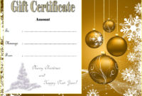 10 Christmas Gift Templates Free Typable inside Christmas Gift Templates Free Typable