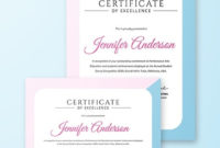 10  Dance Certificate Templates  Word Psd Ai Eps regarding Dance Certificate Template