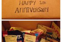 10 Fabulous First Anniversary Gift Ideas For Boyfriend 2020 for Certificate For Best Boyfriend 10 Sweetest Ideas