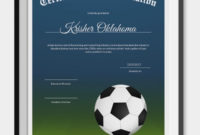 10 Football Certificate Templates  Free Word Pdf for Player Of The Day Certificate Template