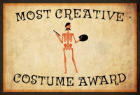10 Free Costume Award Certificates Printables intended for Best Costume Certificate Printable Free 9 Awards
