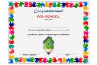 10 Free Preschool Diploma Certificate Templates in Amazing Daycare Diploma Certificate Templates