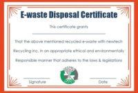 10 Hard Drive Certificate Of Destruction Templates throughout Free Hard Drive Destruction Certificate Template