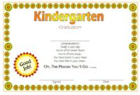 10 Kindergarten Graduation Certificates To Print Free inside Quality 10 Kindergarten Graduation Certificates To Print Free