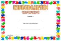 10 Kindergarten Graduation Certificates To Print Free with Editable Pre K Graduation Certificates
