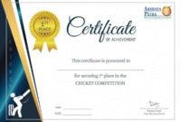 10 Sample Achievement Certificate Templates  Free in Awesome Word Template Certificate Of Achievement
