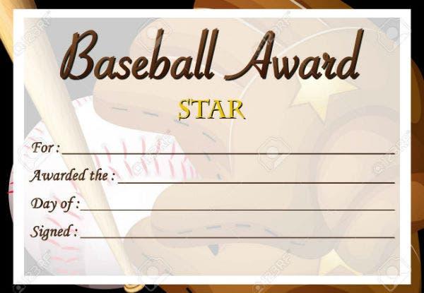 10 Simple Baseball Award Certificate Templates  Sample within Quality Editable Baseball Award Certificates