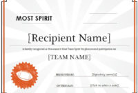 10 Training Certificate Templates  Free Printable Word intended for Quality Player Of The Day Certificate Template