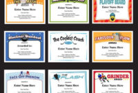 101 Best Award Certificates Templates Images On Pinterest with Best Coach Certificate Template