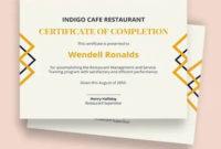 11 Experience Certificate Template  Free  Premium Templates regarding Awesome Certificate Of Experience Template