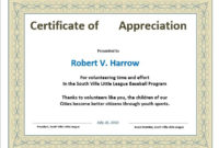 11 Free Appreciation Certificate Templates  Word pertaining to Certificate Of Appreciation Template Word