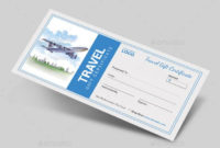 11 Travel Gift Certificate Templates  Free Sample regarding Free Wedding Gift Certificate Template Word 7 Ideas