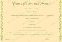13 Best Years Of Service Award Images On Pinterest  Award inside Certificate Of Service Template Free
