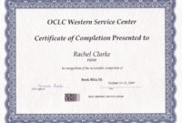 13 Certificate Of Completion Templates  Excel Pdf Formats within Free Completion Certificate Templates For Word