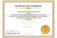 13 Course Certificate Designs  Templates  Psd Ai pertaining to Leadership Certificate Template Designs