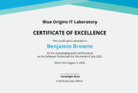 13 Free Performance Certificate Templates Customize within Outstanding Performance Certificate Template