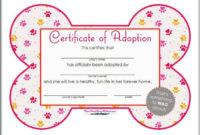 13 Pet Birth Certificate Designs  Templates  Pdf Psd regarding Best Pet Adoption Certificate Template Free 23 Designs