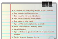 14 Best Remembering Dad Images On Pinterest  Great Ideas with regard to Best Family Reunion Agenda Template