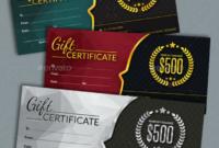 14 Restaurant Gift Certificates  Free  Premium Templates inside Dinner Certificate Template Free