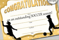 15 Soccer Certificate Templates To Download  Sample Templates inside Printable Player Of The Day Certificate Template Free