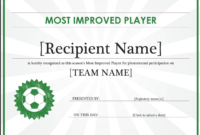 17 Sports Certificate Templates  Certificate Templates throughout Amazing Athletic Award Certificate Template