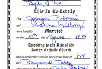 18Bcf9C Church Certificate Template Baptism Wedding In with Quality Roman Catholic Baptism Certificate Template