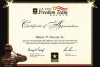 20 Army Promotion Certificate Template ™ In 2020 within Promotion Certificate Template