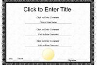20 Award Certificate Template Powerpoint ™ In 2020 throughout Award Certificate Template Powerpoint