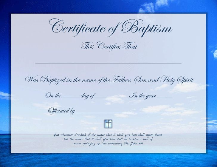 20 Baptism Certificate Template Publisher ™ In 2020 pertaining to Membership Certificate Template Free 20 New Designs
