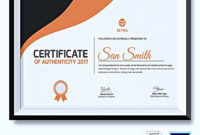 20 Certificate Of Authenticity For Photography for Photography Certificate Of Authenticity Template