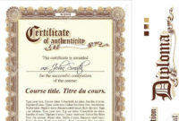 20 Certificate Of Authenticity Templates Free Download with Best Certificate Of Authenticity Template