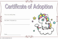 20 Dog Adoption Certificate Template ™ In 2020  Pet pertaining to Pet Adoption Certificate Editable Templates