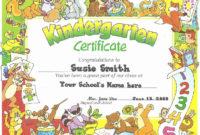 20 End Use Certificate Template ™ In 2020  Kindergarten within Awesome 10 Kindergarten Diploma Certificate Templates Free